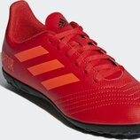 Сороконожки Adidas Kids Predator 19.4 TF - Active Red/Solar Red/Core Black CM8557 р.30-18.5см.