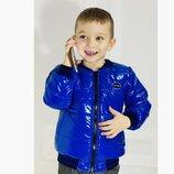 Куртка бомбер детская р.104-152