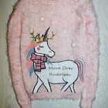 Джемпер травка свитер свитшот кофта одежда для девочки