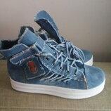Супер Модные Ботинки Джинс Кеды Кроссовки Унисекс