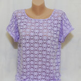Очень нежная футболка блуза marks & spencer Размер 40/L/48 42/XL/50