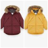 Теплая парка Zara р. 140 оригинал, куртка курточка