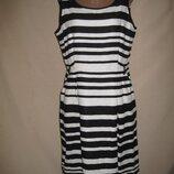 Льняное платье F&F р-р14