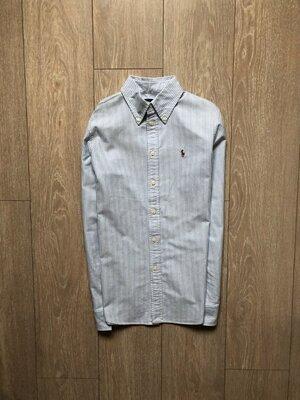 Рубашка котоновая в полоску Polo Ralph Lauren