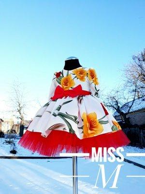 Детское нарядное весеннее платье от miss m