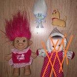 Игрушки старинные кукла лялька троль