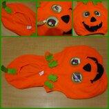Карнавальный костюм жилетка на Хэллоуин Хелловін Тиква Тыква 2-4 года