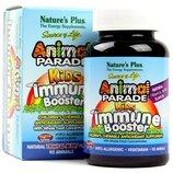 Natures Plus Детские витамины бустеры для иммунитета парад животных Animal parade booster