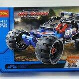 Конструктор Decool 3411 Внедорожный гоночный автомобиль. Техник аналог Lego Technic 42010