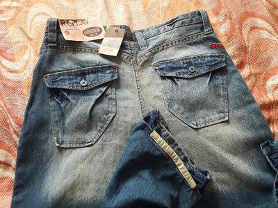 Фирменные новые джинсы Replay w36L32 длина 113см.