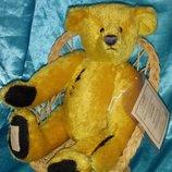 роскошный авторский мохеровый Мишка Медведь Golden Dawn Dean's Rag Book Англия оригинал 32 см