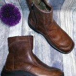 Jomos ботинки зимние 39 кожа мех