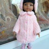 Шубка и наушники для куклы Paola Reina. Одежда. Подойдёт и для куколки Антонио Хуан, Эльза, Анна