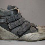 Ботинки Candice Cooper кроссовки мужские кожаные. Италия. Оригинал. 41 р./26.5 см.