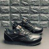 Мужские кроссовки reebok кожаные кроссовки рыбок кожаные кроссовки черные