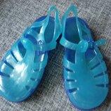 Босоножки сандалии мыльницы аквашузы желейки uk 7 eur 24