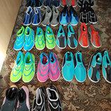 Коралки обувь тапки тапочки для пляжа моря плавания женские мужские р. 36 - 45 аквашузы