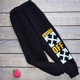 Теплые спортивные штаны с начесом для подростков