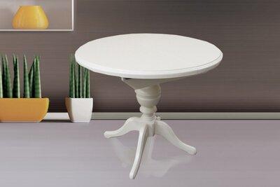 Стол обеденный Анжелика белый