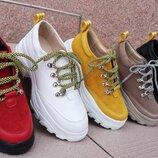 Кроссовки кожаные Tatarka