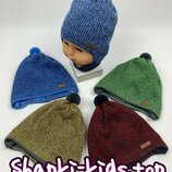 Польская шапка для мальчика на подкладке хлопковой Grans