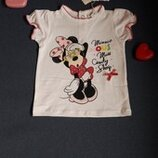 Футболка Minnie Mouse Disney 6 месяцев