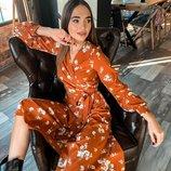 Нежное платье «Виола» 42 - 44 две расцветки
