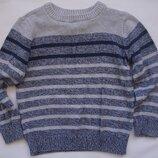 Фирменный свитер мальчику 3-4 лет хлопок в идеале