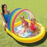 Детский надувной бассейн «Радуга» Intex 57156