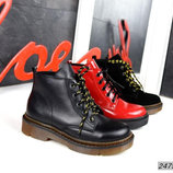 Стильные женские ботинки демисезонные р.36, 37, 38, 39, 40, 41 Натуральные Ботинки деми