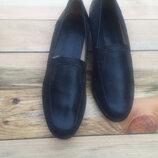 туфли кожа на низком ходу