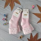 Махровые носки со стразами на девочку 7-8 лет. Арти, Турция