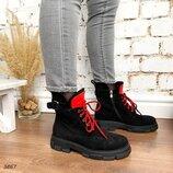 Стильные деми ботинки, арт.3867
