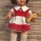 Кукла старинная ссср Гдр
