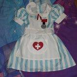 Карнавальное платье Доктор, медсестра.