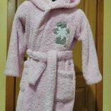 Фирменный халат с мишкой с Теди на 4-6лет
