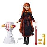 Disney Frozen II Холодное сердце 2 Магия причесок Анна Sister Styles Anna Fashion Doll