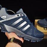 кроссовки Adidas Fast Marathon арт 20716 мужские, синие, адидас