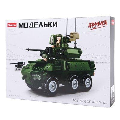Конструктор Sluban m38-b0753 Военная техника Бмп 382 детали