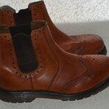 Новые демисезонные мужские ботинки Catesby кожа Англия