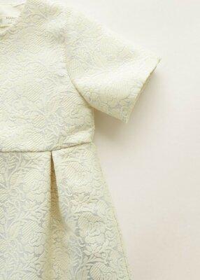 Mango нарядное платье на годик 12-18 для маленькой леди