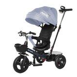 Велосипед детский TILLY Melody T-385 трёхколёсный серый