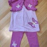Летний костюмчик-тройка на 7-8 лет