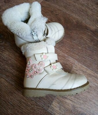 Сапоги зимние, ботинки на девочку теплые, сапожки