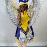 Прокат карнавальный костюм птичка синичка Синица птички синиця для девочки пташка птах