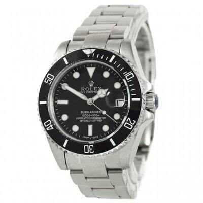 Наручные Часы Rolex Submariner Silver Black