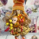 Кукла интерьерная,текстильная
