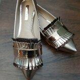 Золотистые новые туфли Lost Ink