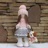Текстильная кукла, интерьерная