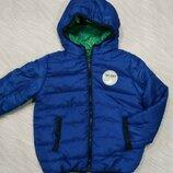 Двусторонняя курточка на мальчика